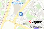Схема проезда до компании Мясной дворик в Ростове-на-Дону