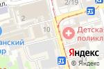 Схема проезда до компании Магазин парфюмерии на площади Толстого в Ростове-на-Дону
