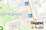 Схема проезда до компании Мадагаскар в Ростове-на-Дону