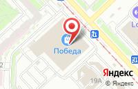 Схема проезда до компании Победа в Ярославле