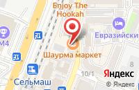 Схема проезда до компании Техно-Терра в Ростове-На-Дону