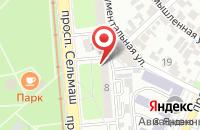 Схема проезда до компании Раковар в Ростове-на-Дону