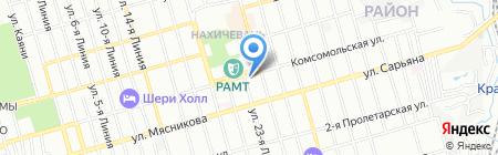 Видеомир на карте Ростова-на-Дону
