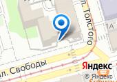 Управление Федерального казначейства по Ростовской области на карте
