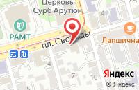 Схема проезда до компании Федерация Традиционного Ушу в Ростове-На-Дону