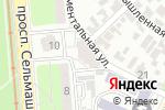 Схема проезда до компании Ваше право в Ростове-на-Дону