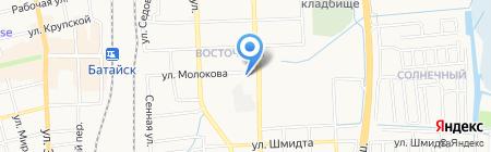 Магазин разливного пива на Речной на карте Батайска