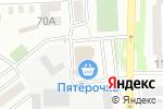 Схема проезда до компании Ситилинк mini в Батайске