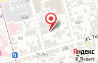 Схема проезда до компании Призма в Ростове-На-Дону