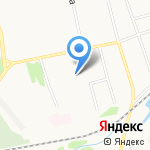 Средняя школа №17 на карте Ярославля