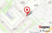 Схема проезда до компании Объединение Рязанских Строителей в Рязани