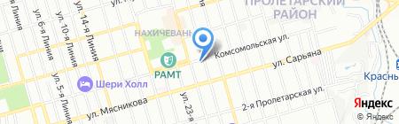 SBI-travel на карте Ростова-на-Дону