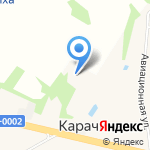 Астел на карте Ярославля