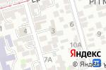 Схема проезда до компании Эверест в Ростове-на-Дону