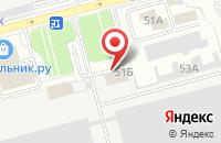 Схема проезда до компании Медианет в Рязани