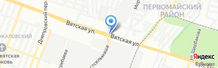 Тавуш на карте Ростова-на-Дону