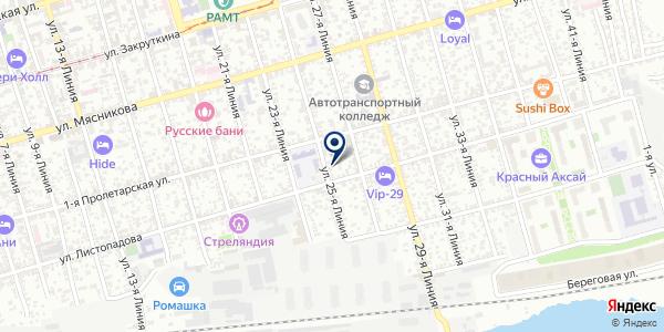 МОУ ШКОЛА СРЕДНЕГО ОБЩЕГО ОБРАЗОВАНИЯ на карте Константиновске