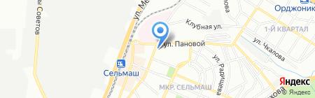 Фейерверки на карте Ростова-на-Дону
