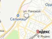 Стоматологическая поликлиника Первомайского района Ростова на Дону на карте