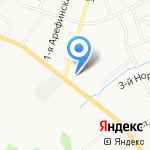 Дизель-Резерв на карте Ярославля
