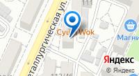 Компания Похоронное бюро на Металлургической на карте