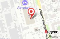 Схема проезда до компании Рязаньпассажиртранс в Рязани