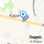 Сад Удачи на карте Ярославля
