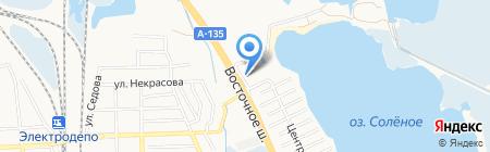 Дон-Парк на карте Батайска