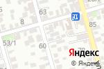 Схема проезда до компании Главпроект в Ростове-на-Дону