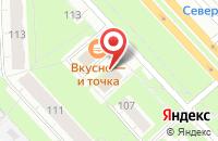Схема проезда до компании Избушка в Ярославле