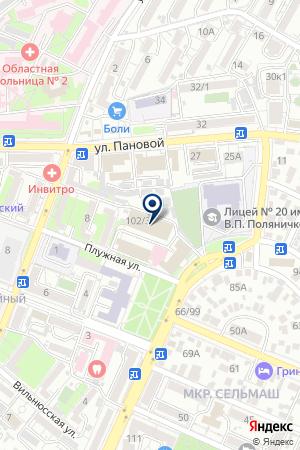 ТОРГОВОЕ ПРЕДПРИЯТИЕ СТИЛЬ ОФИС на карте Ростова-на-Дону