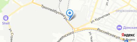 Город непосед на карте Ростова-на-Дону