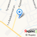 Троицкая на карте Ярославля