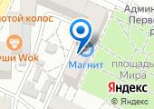 Донской инвалидный спортивный клуб на карте