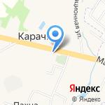 А-строй на карте Ярославля