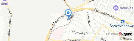 Детский сад №26 на карте Ростова-на-Дону