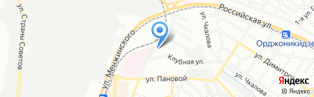 Импульс на карте Ростова-на-Дону