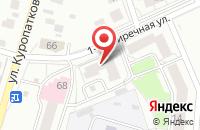 Схема проезда до компании Национальный Проект в Ярославле