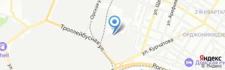 Мото-Форвард на карте Ростова-на-Дону