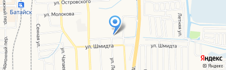 Детский сад №25 на карте Батайска