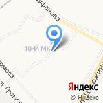 Ровесник на карте Ярославля