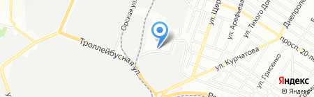 Агрос на карте Ростова-на-Дону