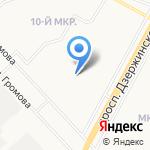 Детский сад №93 комбинированного вида на карте Ярославля