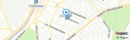 Мир навесов на карте Ростова-на-Дону