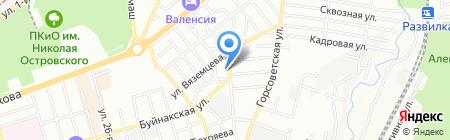 Delphi на карте Ростова-на-Дону