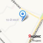 РЭУ №18 на карте Ярославля