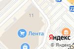 Схема проезда до компании АКБАТ в Рязани