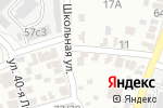 Схема проезда до компании Красносадская средняя общеобразовательная школа в Красном Саде
