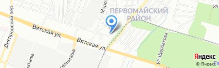 Метизы на карте Ростова-на-Дону