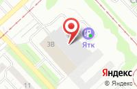 Схема проезда до компании SatМастер в Ярославле